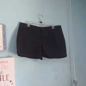 Old Navy. Size 12. Black Shorts.